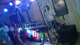 SONIDO ILUMINACION PANTALLA DJ