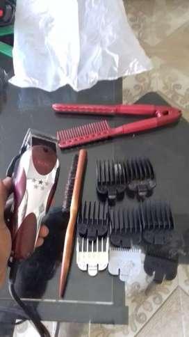 Barbería implementos excelentes