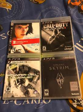 4videojuegos de PS3