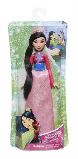 Muñeca Princesa De Mulan Disney 30 cm Original Hasbro