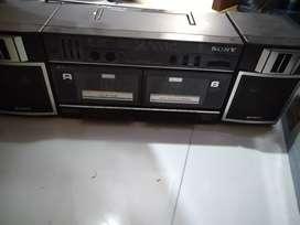 Grabadora Sony casetera