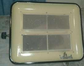 Pantalla calefactor