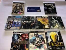 Juegos PlayStation 3 Originales