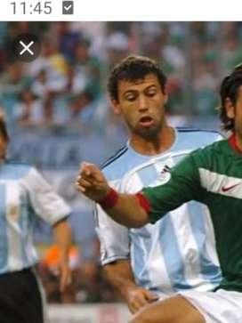 Camiseta adidas Argentina 2006 Mascherano