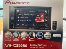 Radio pantalla tactil pioneer avh x2800bs como nuevo