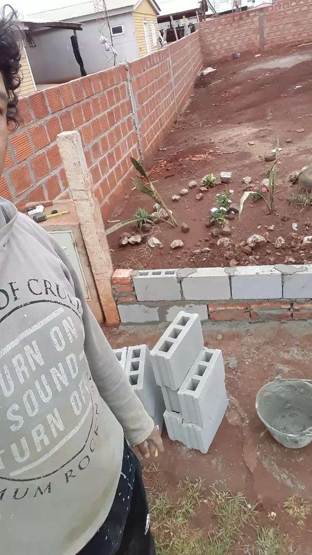 Hola les comento ago todo tipo de trabajo de construcción 0