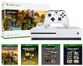 Xbox One S 1tb Console - Minecraf Nuevas