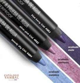 Delineador en Lápiz para Ojos Color Blue Berry de Yanbal - Unique