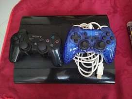 Playstation 3  250 GB  2 controles  9 juegos  cable HDMI