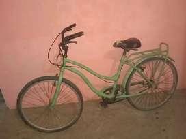 Vendo bicicleta sólo ay k cambiar las camara