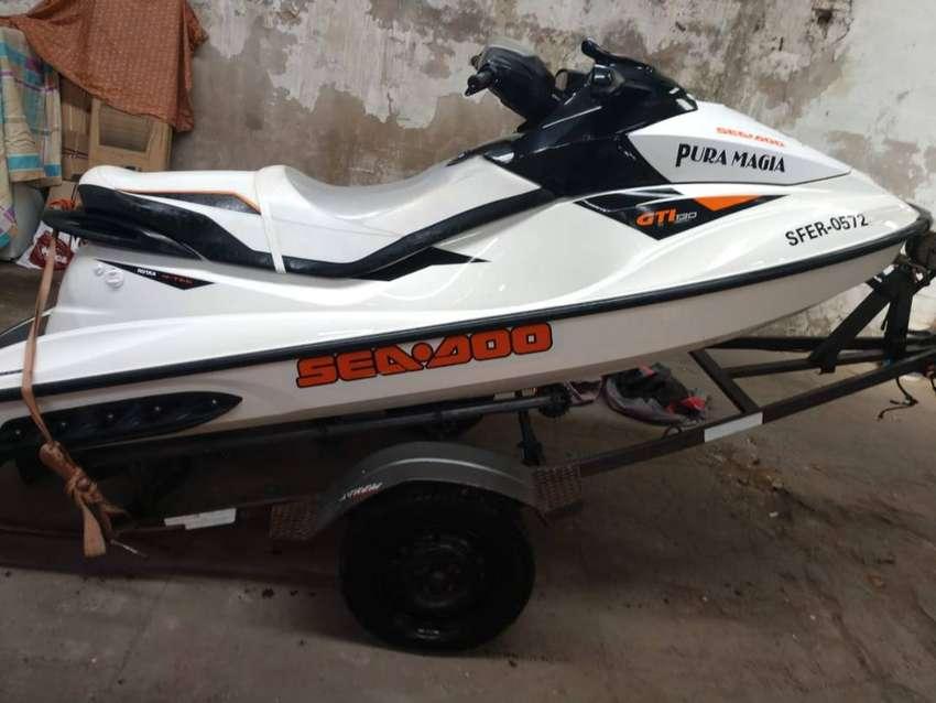 Moto De Agua Sea Doo Gti130 Año 2012