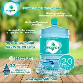 Agua de mesa Alcalina