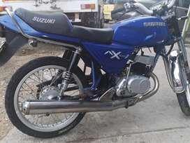Vendo moto Ax100