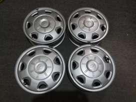Juego 4 Rines 13 Chevrolet spark LT GO LF original nuevos