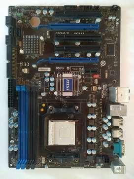 PC Combo msi 870 g45 + phenom 2 + ddr3