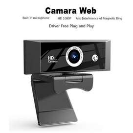 Camara  1080p microfono USB