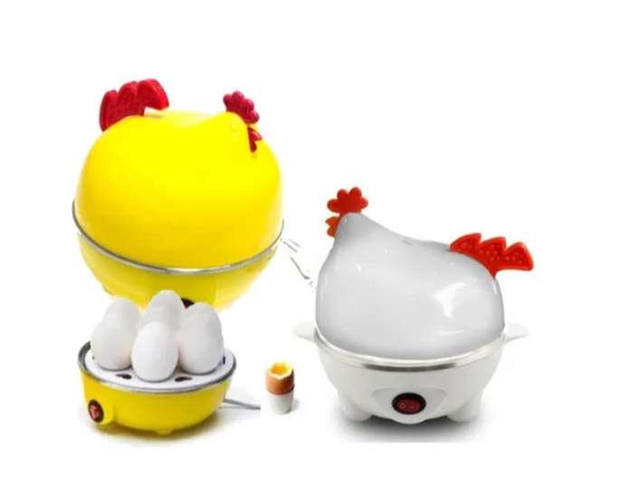 Gallina Electrica Cocinador Hervidor De 7 Huevos A Vapor