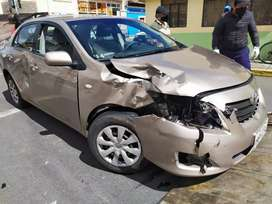 Toyota Corolla Siniestrado