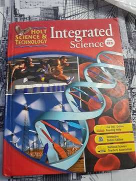 Integrated Science Holt Science and Technology $5