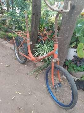 Vendo bicicleta retro rodado 20