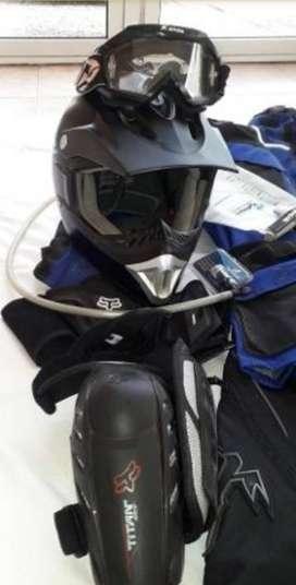 Equipo Completo De Motocross