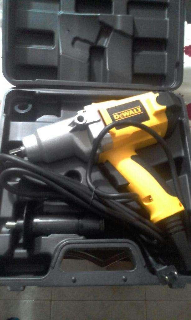 llave de impacto electrica tipo dewalt de 1/2 0