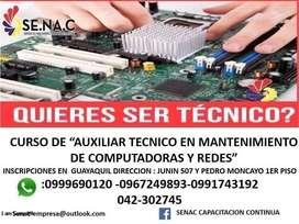 CURSO DE MANTENIMIENTO Y REPARACION PC Y LAPTOS