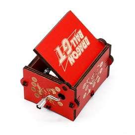 Caja Musical - Dragon Ball Gt Corazon Encantado Regalo Fan