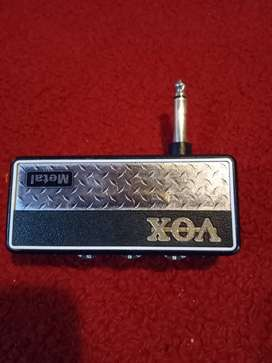 Vox Amplug2 Clasic Rock y Metal C/U 6000