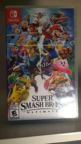 Juego Nintendo Switch Súper Smash Bros