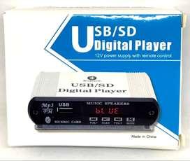 Actualice su equipo de sonido - Modulo Reproductor de Bluetooth, memoria USB y FM