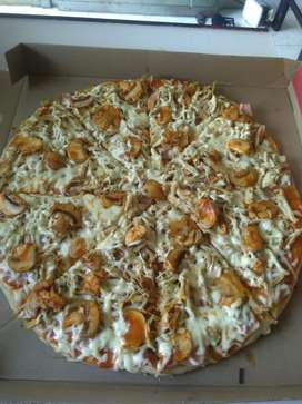 Chucho's pizzas