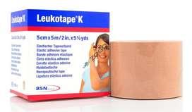 Cinta Leukotape K Taping Vendaje Neuromuscular 5 Cm X 5mt Adhesiva