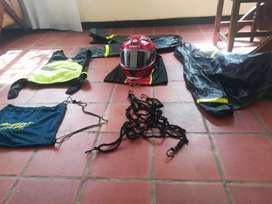 Venta de casco, protección y maletín