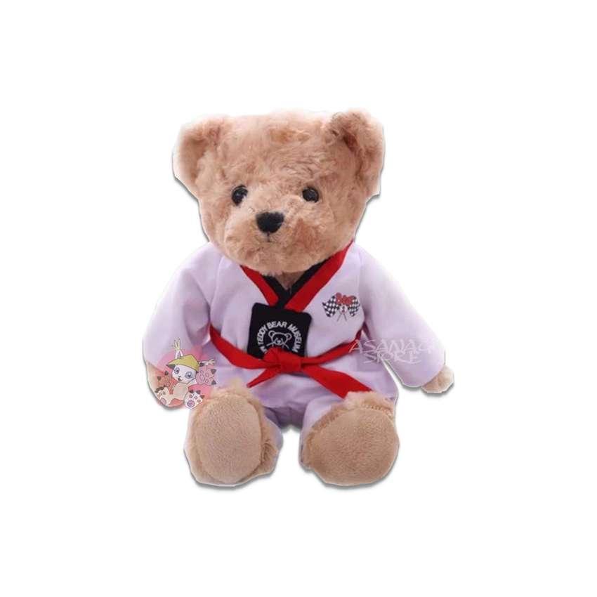 Peluche Oso Artes Marciales Taekwondo Importado 0