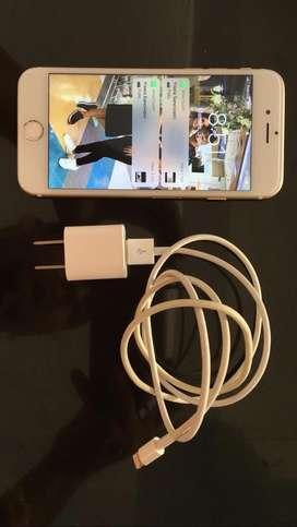 Vendo iphone 6s de 64 gs con cargador priginal y forro bateria en 85 %