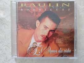 CD musical de RAULÍN RODRÍGUEZ
