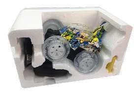 Carro acrobacias giros control remoto rotación