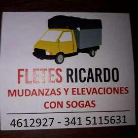 FLETES, ELEVACIONES, ARMADO Y DESARMADO DE MUEBLES.