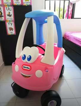 Carro montable little tikes