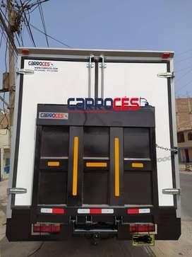 Venta y fabricación de rampa hidráulica para cualquier tipo de camión desde 0.5 hasta 2 TN