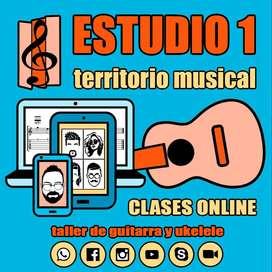 Clases ONLINE de guitarra y ukelele en Mendoza