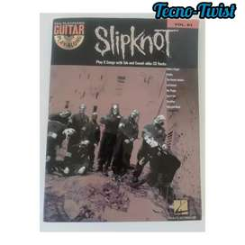 Slipknot libro +CD.