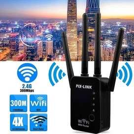 Repetidor Amplificador Wifi Extensor Pix-link Lv-wr16