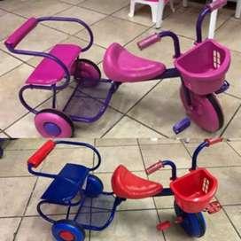 Triciclo doble