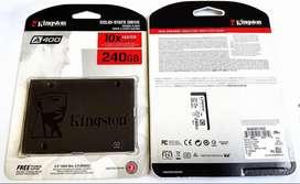 Kingston SSD A400 de 240gb Nuevo Sellado