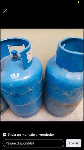 Dos tanques de gas
