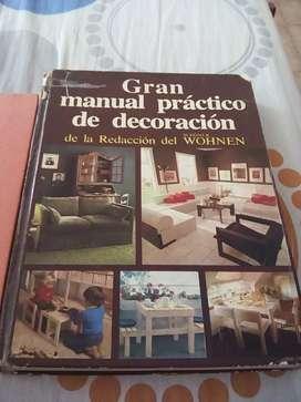 Vendo 3 libros para hacer mueble o manual