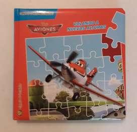 Libro Aviones Cuento Y Rompe Cabezas