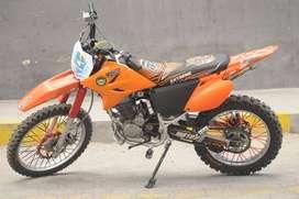 Vendo Moto Enduro Motor1 250 Modificada
